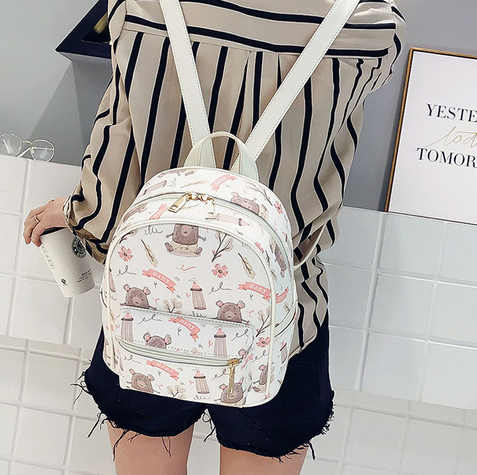 Cute ice cream backpack YV40229