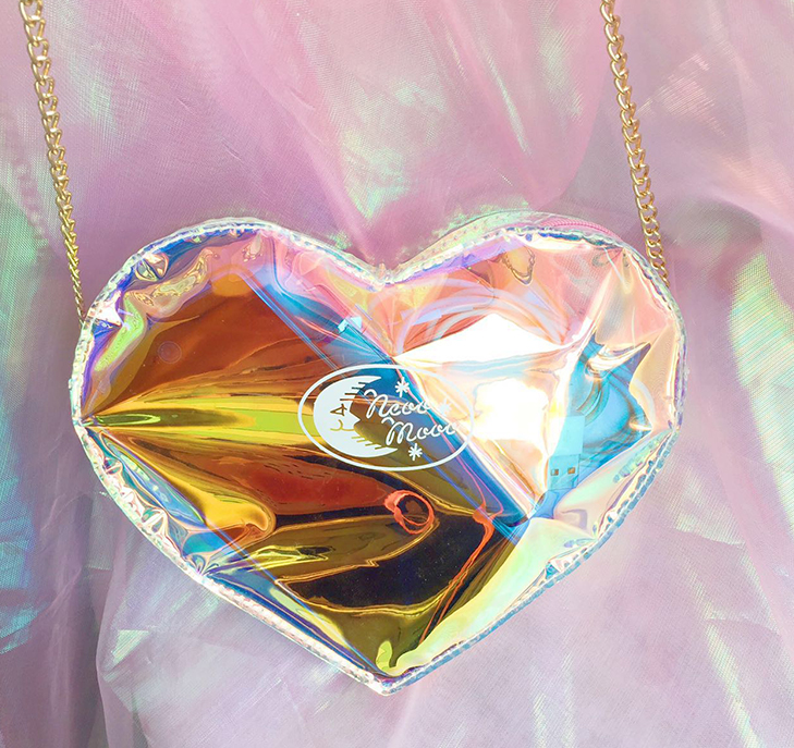 Heart Shaped Laser Bag YV40235