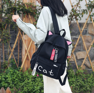 Cat Ear Canvas Backpack YV40240
