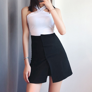 Retro high waist hip skirt  YV40335