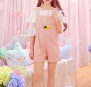 Cute fish cat strap pants YV40307
