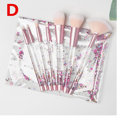 Flowing bright diamond seven-piece makeup brush YV40351
