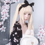 Review For Double Ponytail Lolita Daily Wig YV2462