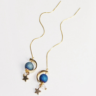 Galaxy Starry  Earrings YV40401