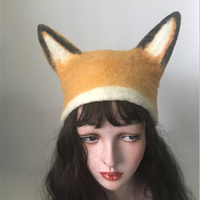 Handmade elf fox ear hat YV20127
