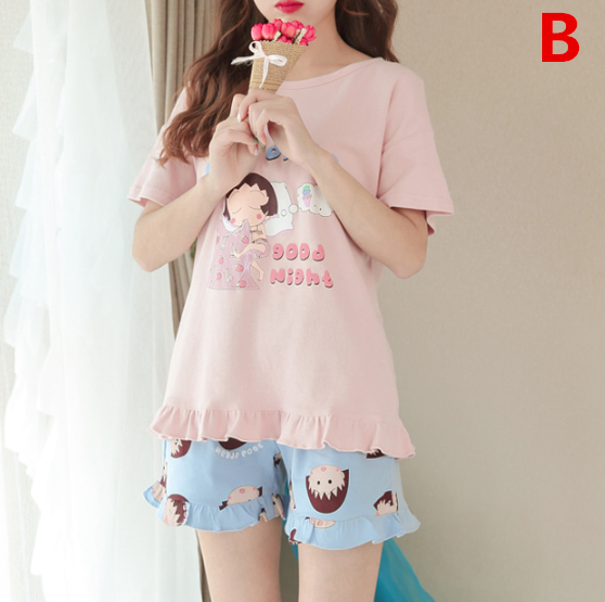 Cute Unicorn Two Piece Pajamas YV40424