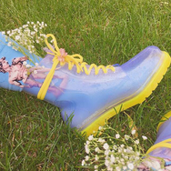 Jelly Transparent Rain Boots YV2303