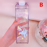Cute Unicorn Milk Box Cup YV40478