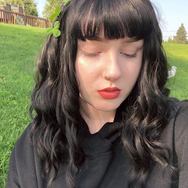 Review For Air Bangs Wavy Wig YV2428