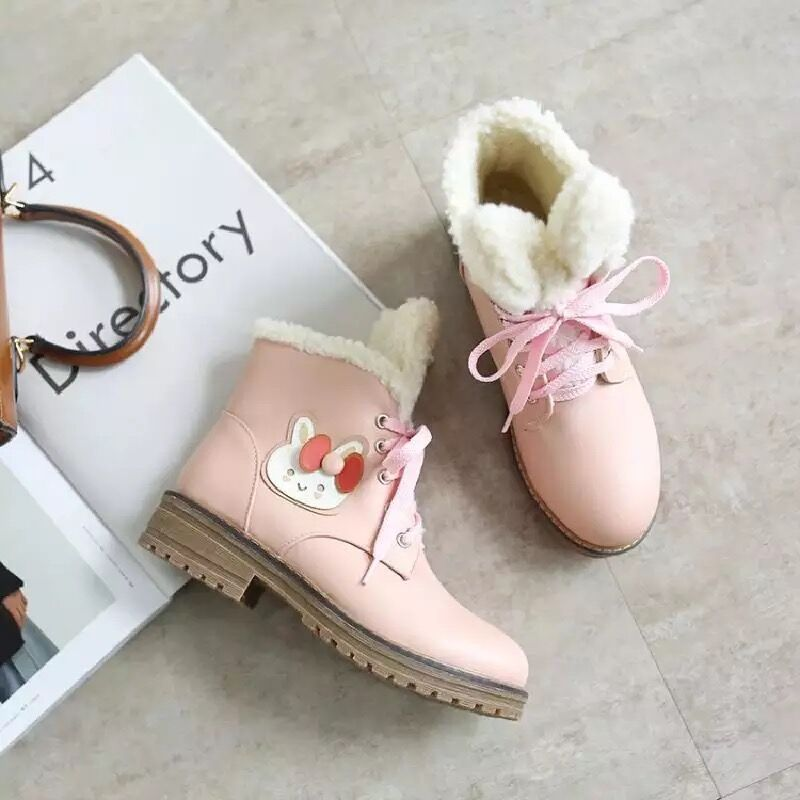 Cute loli rabbit ears boots YV444