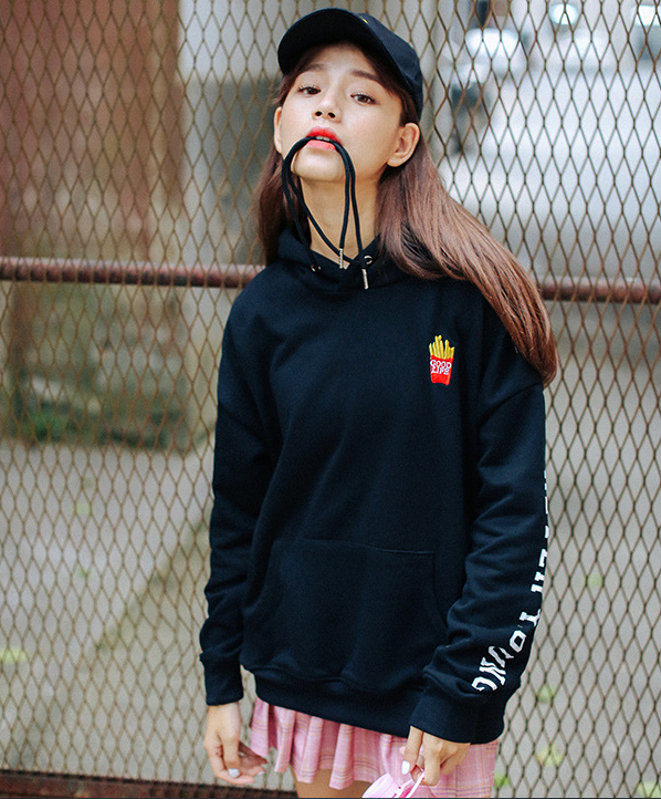 """fore very young"" Hooded sweater  yv40556"