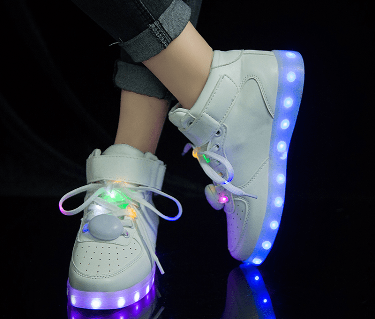 Colorful LED fluorescent shoes yv40559