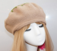Japanese Christmas deer beret yv40655