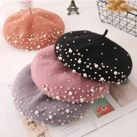 Japanese pearl beret yv40697