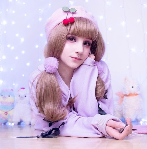 Review For Harajuku Air Bangs Wig YV40110