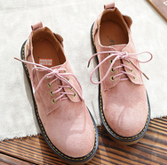 Cute cat lace-up casual shoes YV40811