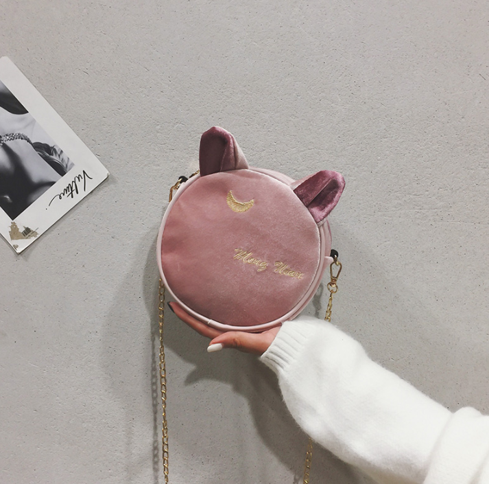 Cute Luna Cat Ear Bag YV40833