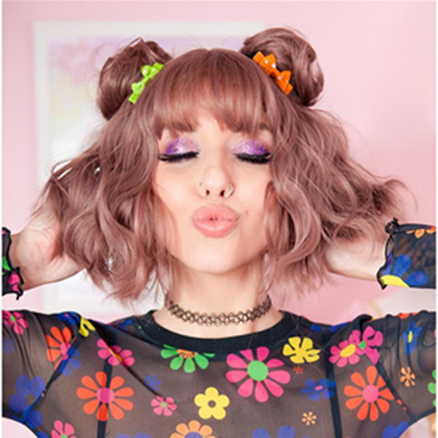 Review for Harajuku Lolita Wig With Two Small Bun YV40112