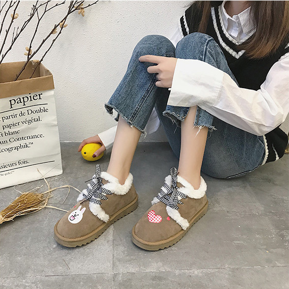 Cute warm cotton shoes YV40982