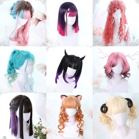 Youvimi 12 constellation limited edition wig YV90071