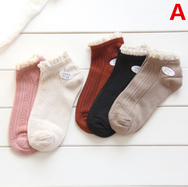 Japanese lace comprehensive socks (5 pairs) yv42022