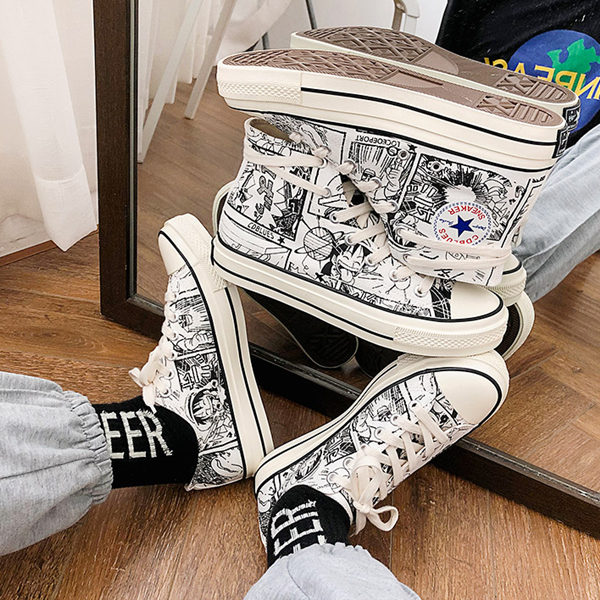 One Piece Canvas Shoes yv42144