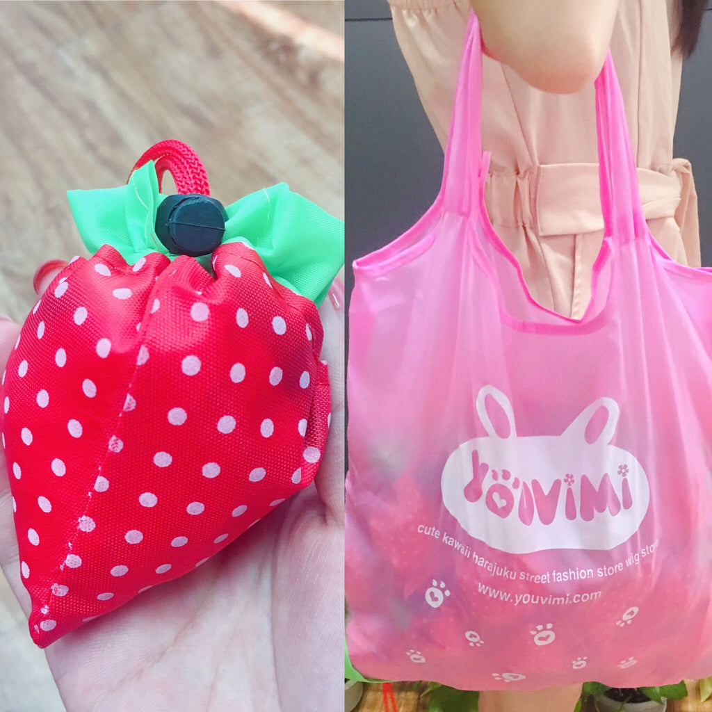 Youvimi commemorative cute strawberry  reusable bag  YV42246