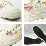 Cute rabbit carrot canvas shoes yv42316