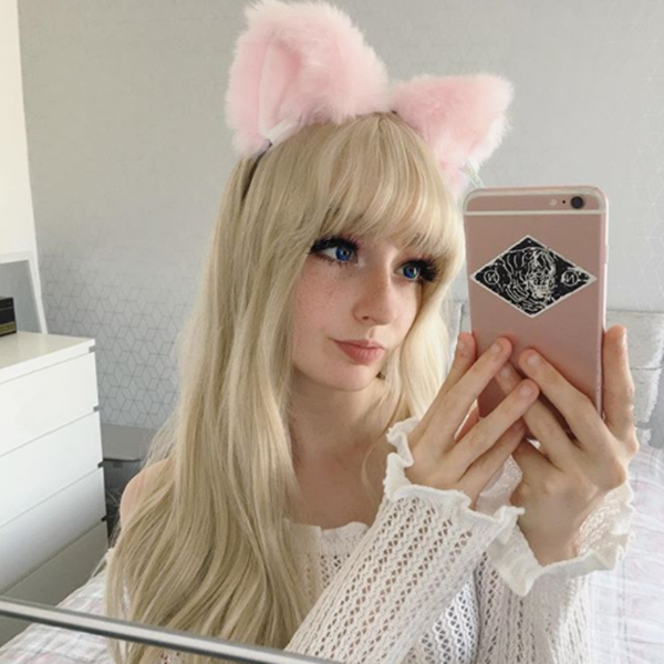 Cute cat ears headband YV90102