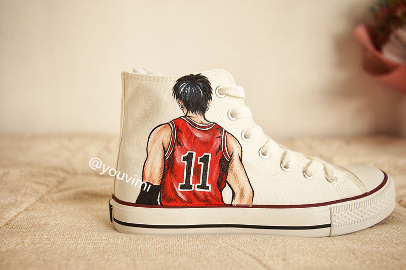 Youvimi slam dunk hand painting  shoes YV42451