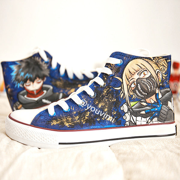 Youvimi My Hero Academia handmade painting shoes YV42445