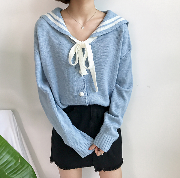 Japanese Academy Sweater Cardigan YV42455
