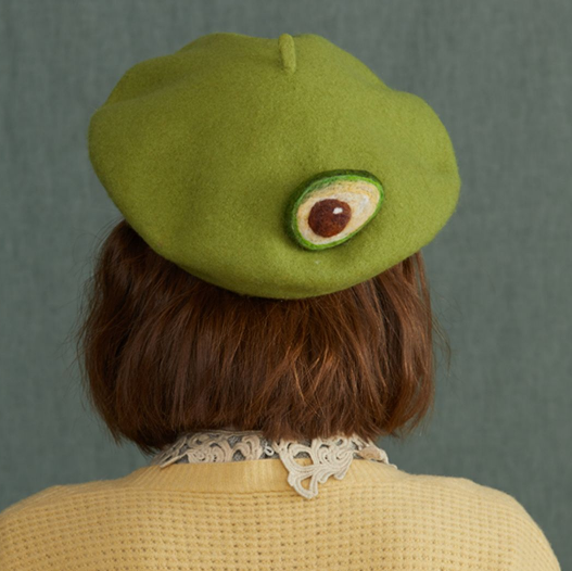Avocado green beret yv42596