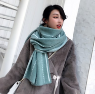Striped reversible scarf yv42714