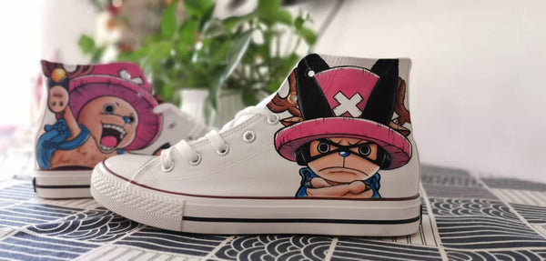 Youvimi  One Piece Choba Handmade Painting Shoes YV42718