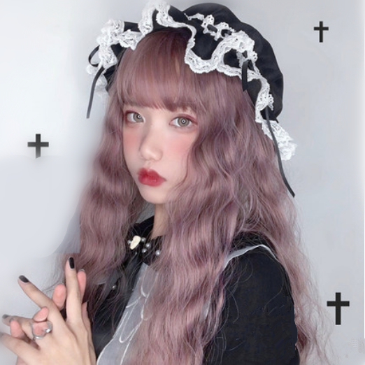 Lolita Long Curly  Wig yv42792