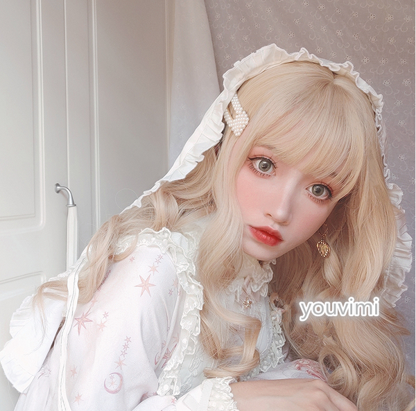 lolita long curly wig yv42797