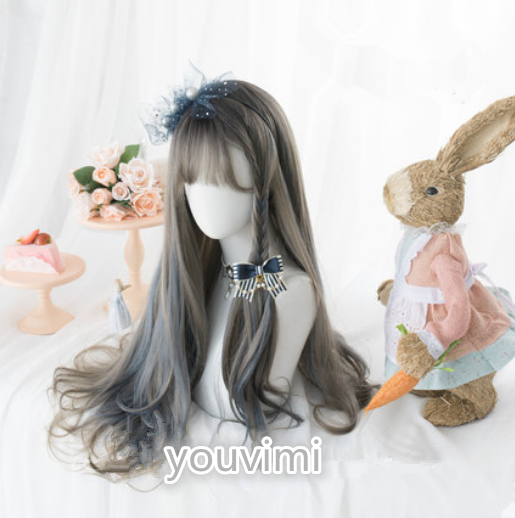 lolita gradient highlighting wig yv42857