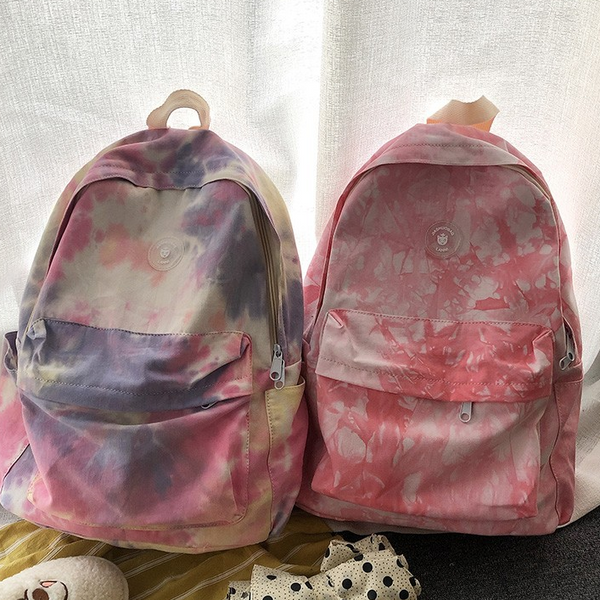 Japanese color canvas backpack yv42871