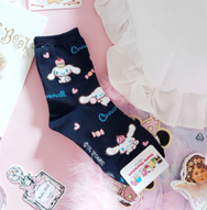 Cute jade dog cartoon socks yv42875