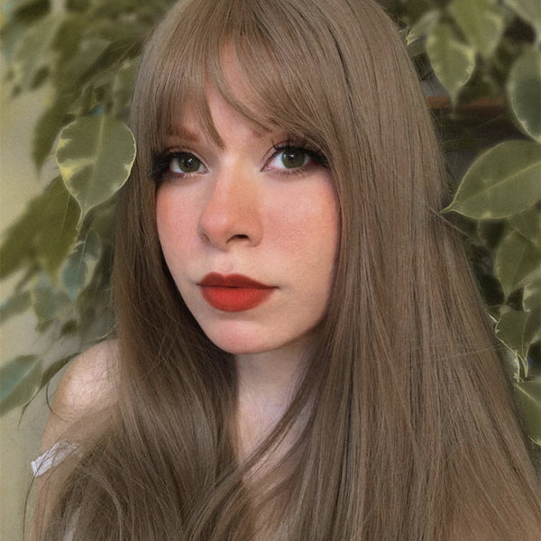 Review For Cute Long Straight Wig Yv42162