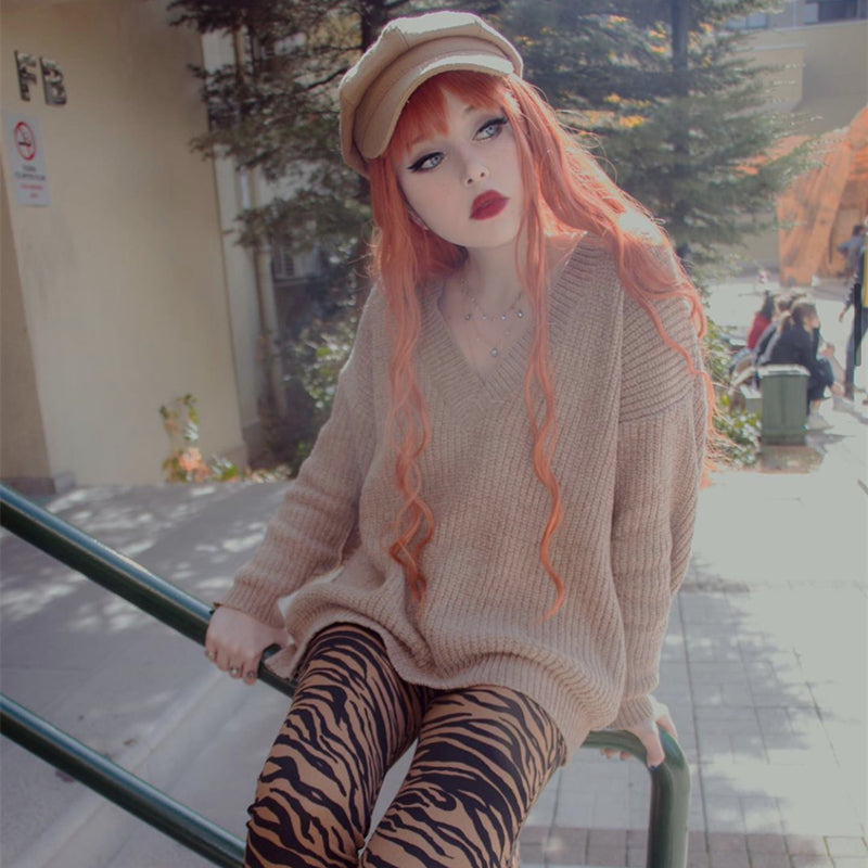 Review For Lolita Cos Mixed Color Wig Yv40544