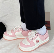 Cute strawberry milk box shoes yv43432