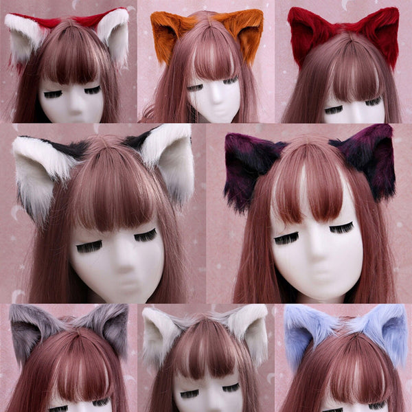 Cute cat ear hairpin yv43530