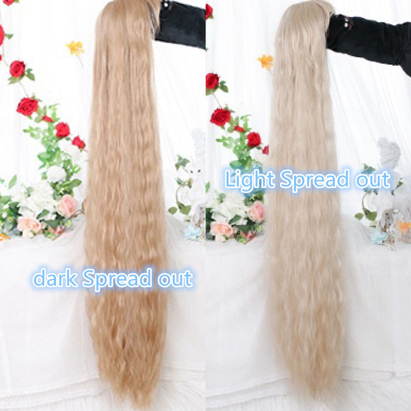 Youvimi cos 120cm wool roll extra long wig YV43738