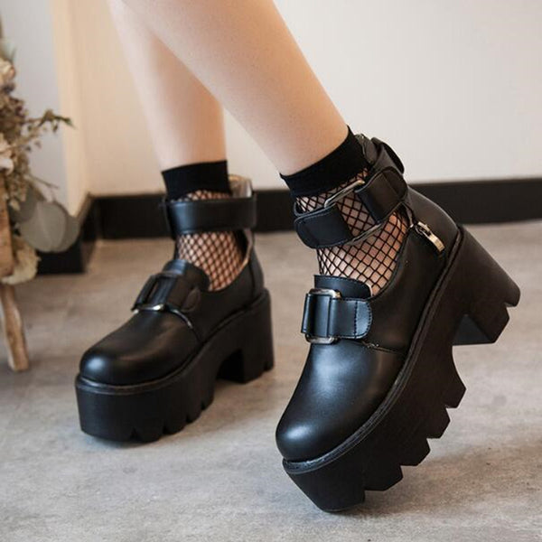 Punk Platform Shoes YV2061