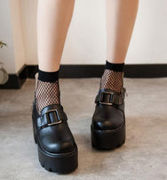 Punk Platform Shoes and socks YV2061