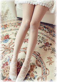 Lolita Bows and lace stockings  YV8064