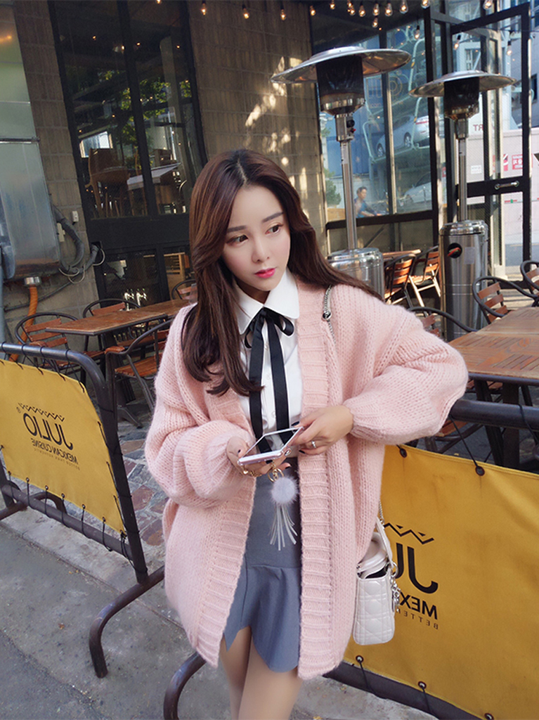 Fashion students sweater cardigan coat  YV16039