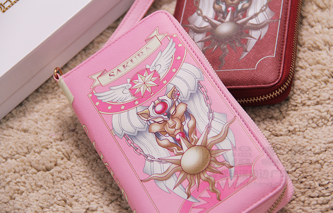 Cardcaptor Sakura Book Design Wallet Purse YV16006